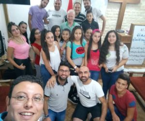 Cell Groups With New Converts - Syria
