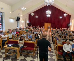 Thanksgiving Service In Zabadane For The Delivery Of 168 Renovated Houses