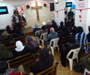 Widows in Tartus attending the GKPN project - August 2020